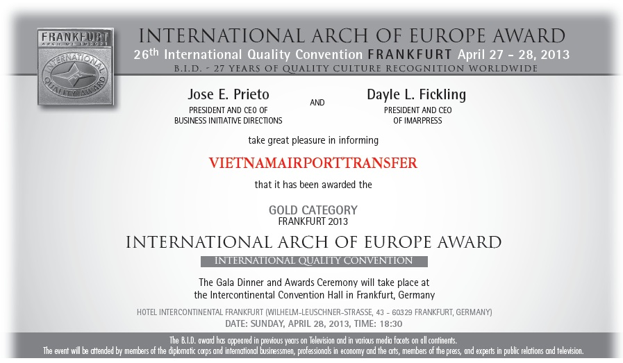 Vietnam airtport transfer